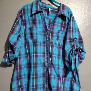 Truth size 3x cotton flannel shirt